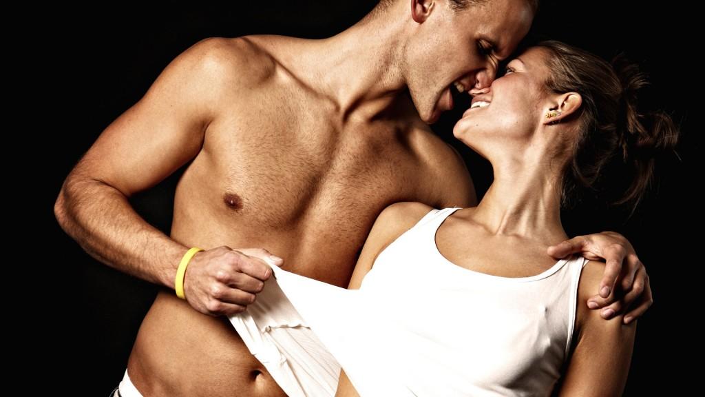 Любовь, чувства, страсть, пара, парень, девушка, 1920x1080