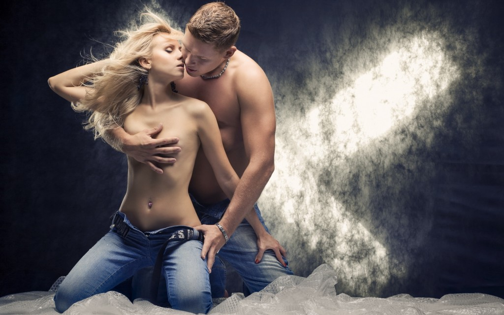 Парень, девушка, романтика, любовь, 1920x1200