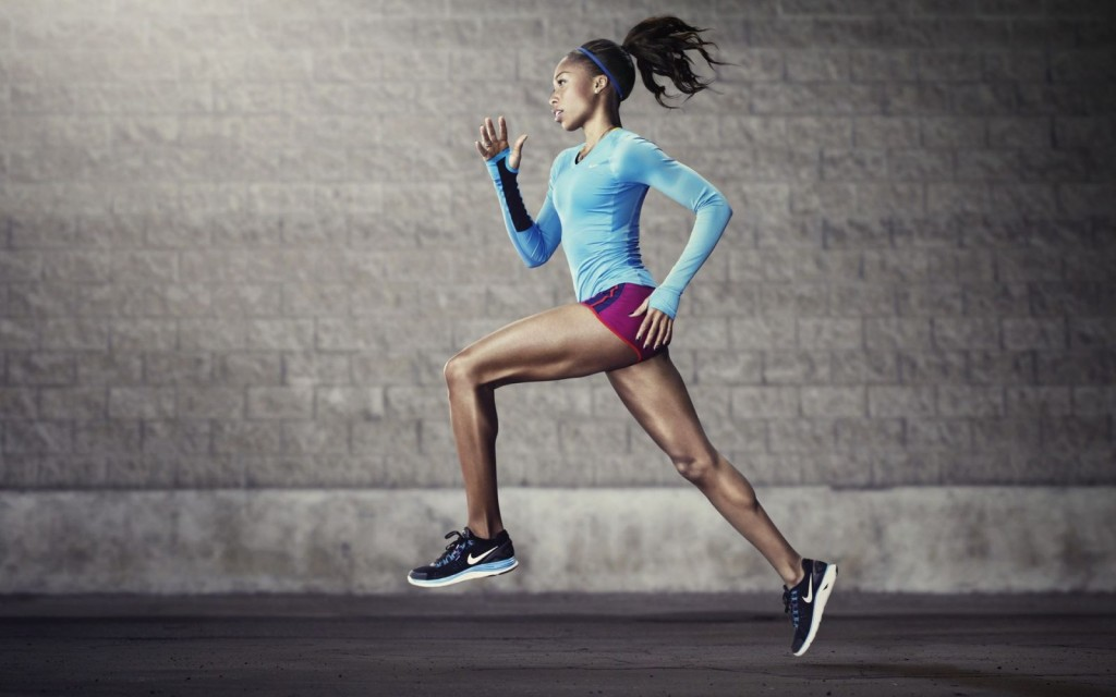 Girl-Nike-Running-HD-Wallpaper