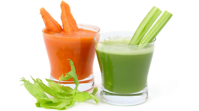 celery and carrot juice