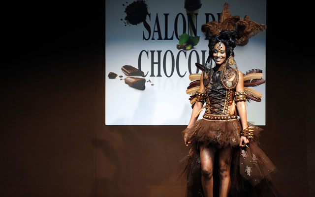 FRANCE-FASHION-CHOCOLATE