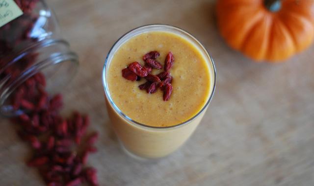 pumpkin-and-goji-drink