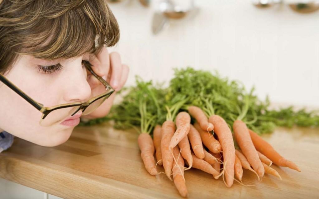 Витамины в продуктах питания, и их воздействие на глаза человека