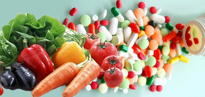 Витамины и питание для имунитета